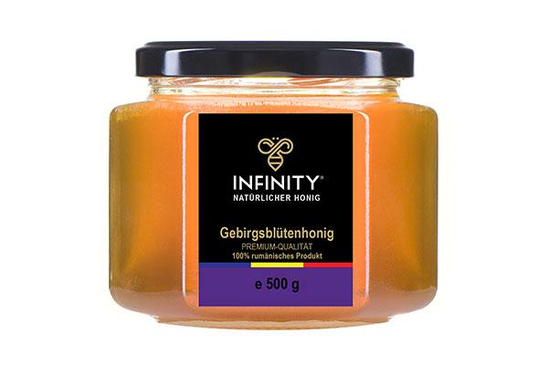 Bergblumenhonig (Himbeere, Brombeere, Sand-Thymian) 500g