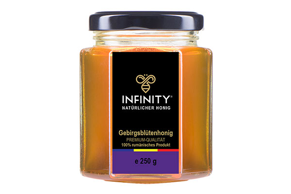 Bergblumenhonig (Himbeere, Brombeere, Sand-Thymian) 250 g