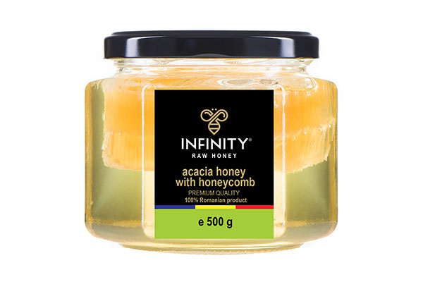 Acacia Honey with Gofer 500g