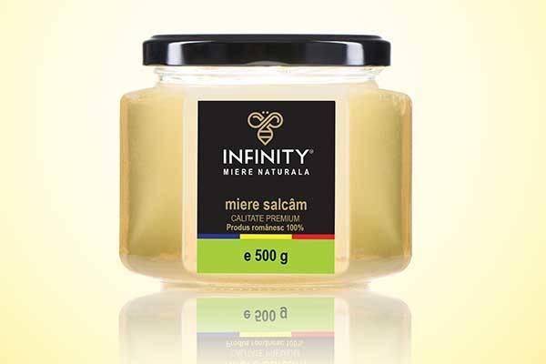 INFINITY HONEY - Miere naturala - miere salcam