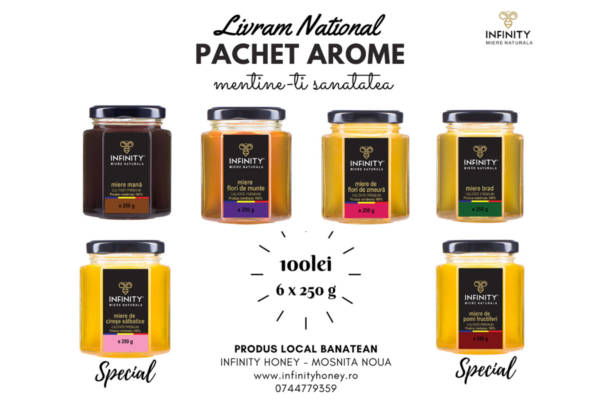Pachet promotional Infinity Honey AROME