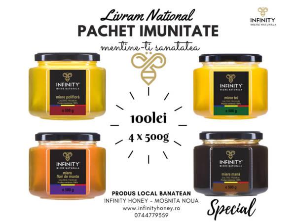 Pachet promotional Infinity Honey IMUNITATE